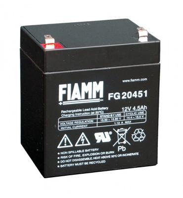 FG20451 - 12V 4.5Ah - Batterie Plomb étanche AGM