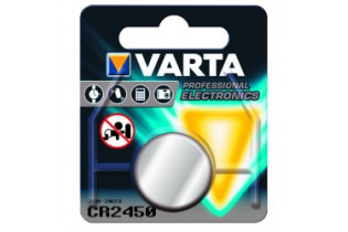 Pile Lithium CR2450