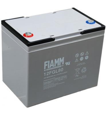 12 FGL80 -12V 80Ah - Batterie Plomb étanche AGM
