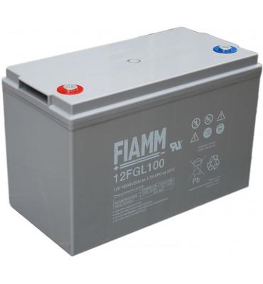12 FGL100 - 12V 100Ah - Batterie Plomb étanche AGM