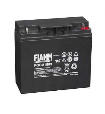 FGC21803 - 12V 18Ah - Batterie Plomb étanche Cyclique AGM