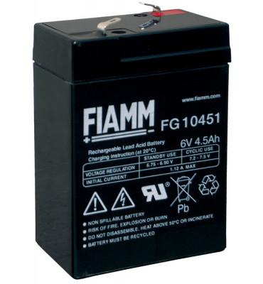 FG10451 - 6V 4.5Ah - Batterie Plomb étanche AGM