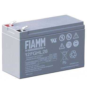 12FGHL28 - 12V 7.20Ah - Batterie Plomb étanche Longue Durée AGM