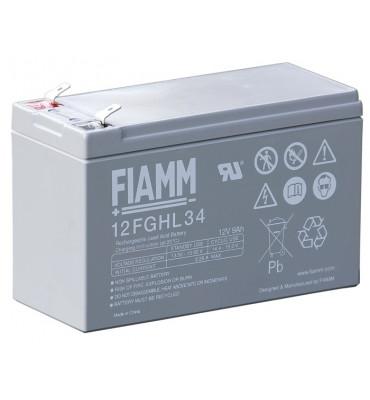 12FGHL34 - 12V  9Ah - Batterie Plomb étanche Longue Durée AGM
