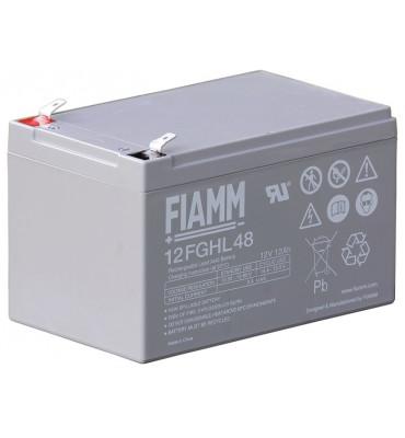 12FGHL48 - 12V 12Ah - Batterie Plomb étanche Longue Durée AGM