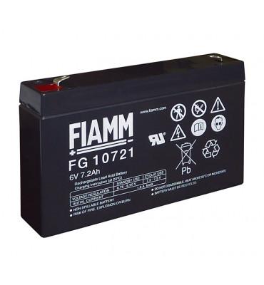 FG10721 -6V 7.20Ah - Batterie Plomb étanche AGM