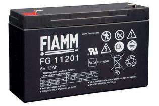 FG11201 - 6V 12Ah - Batterie Plomb étanche AGM